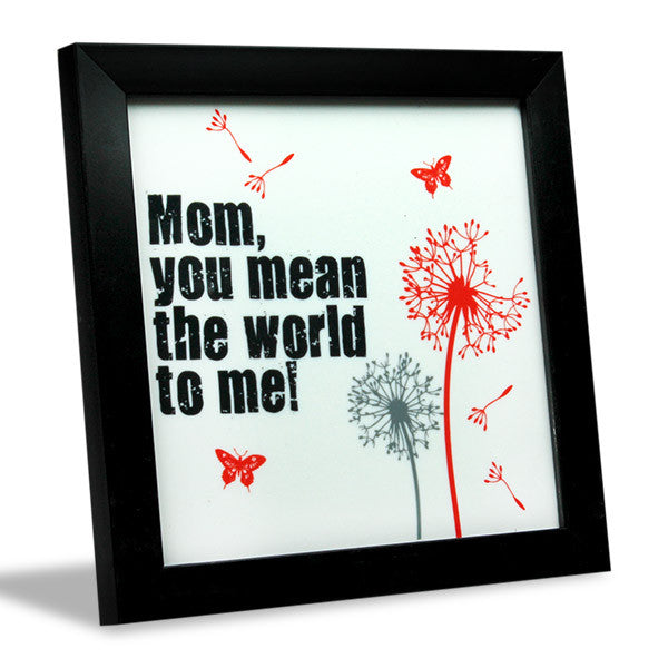 Best gift for mom picture frame
