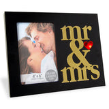 Mr. & Mrs. LED Photo Frame