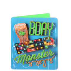 neon glo birthday cards online in India