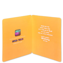 Best 3D Neon Glo Card For Birthday