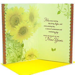 Amiable New Year Card