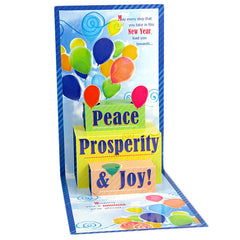 Prosperity & Joy New Year Card