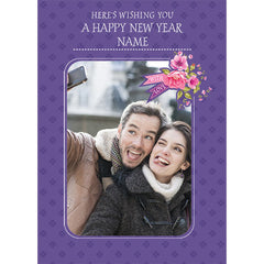 personalized new years cards in india
