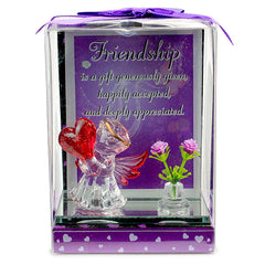 Stylish Friend Glass Quotation