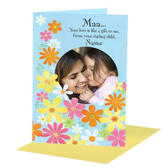 Shop personalised greetings for mom