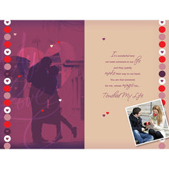 You Are Everything For Me Love Personalised Card