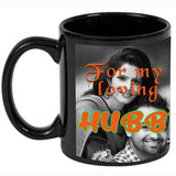 Personalised Black Mug For My Love