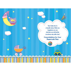personalized cards | Birthday Card for Baby Boy Online India