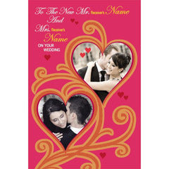 personalized cards | wedding congratulation Cards online in India