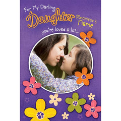 personalized cards | Happy birthday card for for daughter online