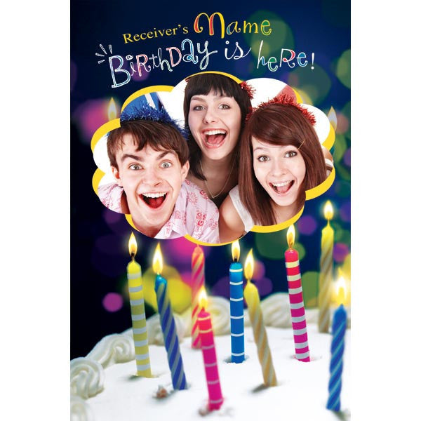 Personalized Birthday Cards Online gangcraftnet – Custom Printed Birthday Cards
