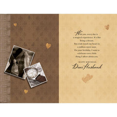personalized cards | buy Birthday cards for Husband online