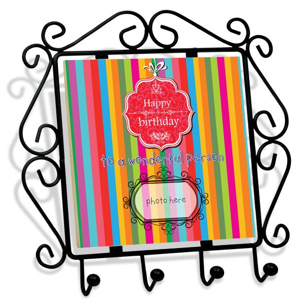 Buy personalized happy birthday frame online in India