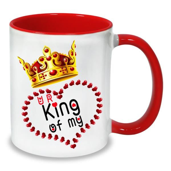 Buy beautiful King of heart mug online in India