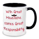 Buy great mustache mug online in India at best price