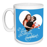 Buy personalized Happy birthday sweetheart mug online in India