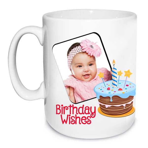 Buy personalized  birthday wishes mug online in India