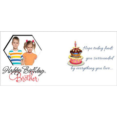 Buy personalized Happy birthday mug for Brother online in India