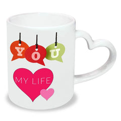 Buy beautiful Thank You mug online in India