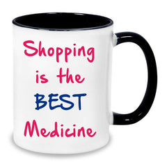 Buy shopping queen Mug online in India
