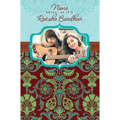 Rakhi Personalised Card For Brother