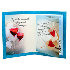 So Much Love With You Card