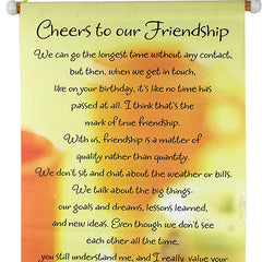 Cheer Friendship Scroll