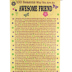 100 Reasons For Amazing Friend To Be Loved