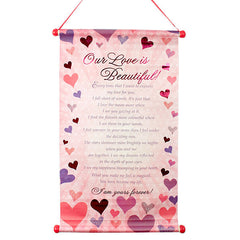 scroll romantic gifts