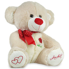 Soft Teddy Bear For Awesome Love