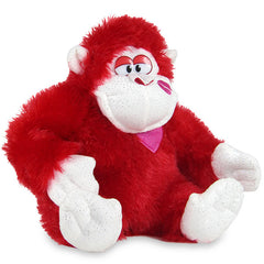 Lovely Red Gorilla Soft Toy