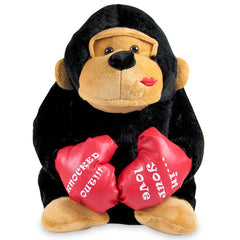 Knockout Black Gorilla Soft Toy
