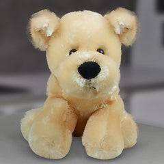 Cream Dog Soft Toy - 11.6 Inch
