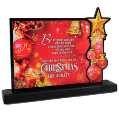 Eminent Red Chirstmas Quotation