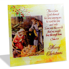 Holy Jesus Christmas Quotation