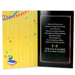 Grateful  Teacher Greeting Card