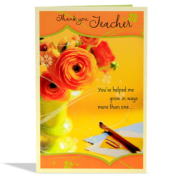 greeting cards for teachers