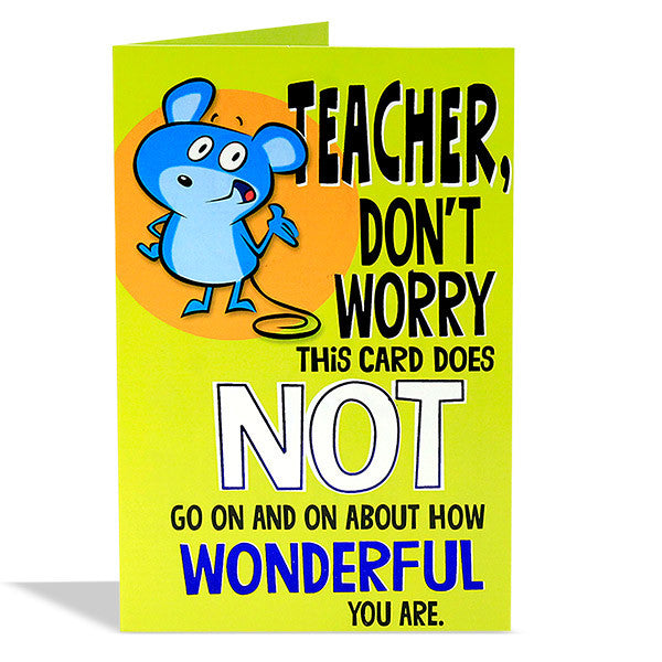cards for teachers day