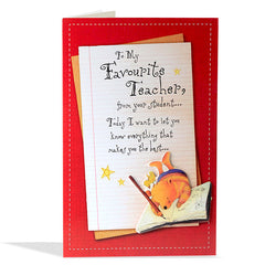 handmade teachers day cards