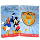 Mickey Greeting Card For Teacher
