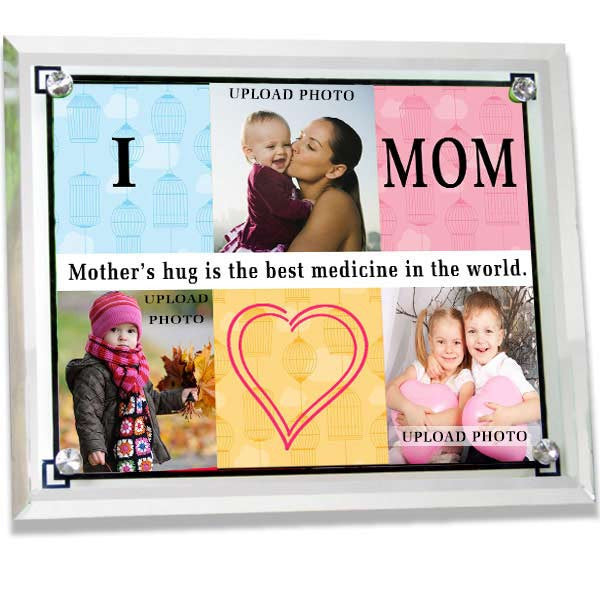 Send custom picture frames