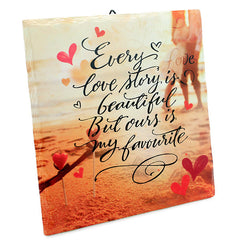 Beautiful Love Story Quotation
