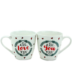 Love You Bliss Mug Set