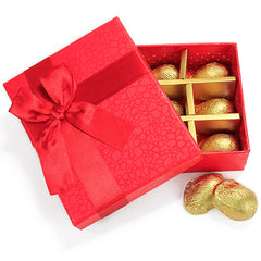 Full On Red Chocolate Box - 9 Pcs