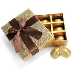 Delightful Golden Chocolate Box - 9 Pcs