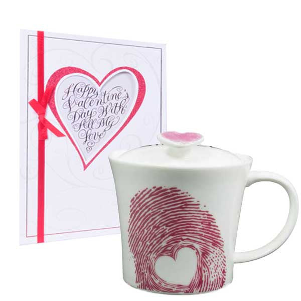 Happy Valentine's Day (Mug & Greeting Card)