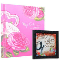 When Love Happens (Quote & Greeting Card)