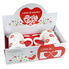 Adorable Love Mug Set For Couple