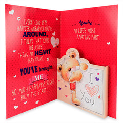 Charming Love Greeting Card