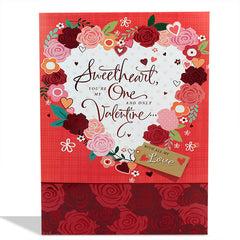 Shop happy valentines day card